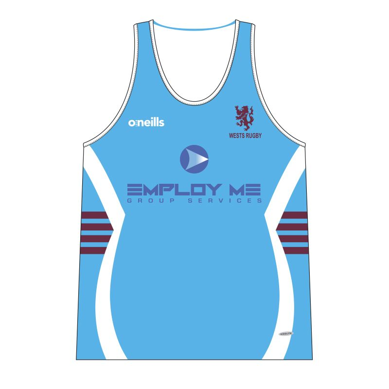 Wests Rugby Club Rugby Vest