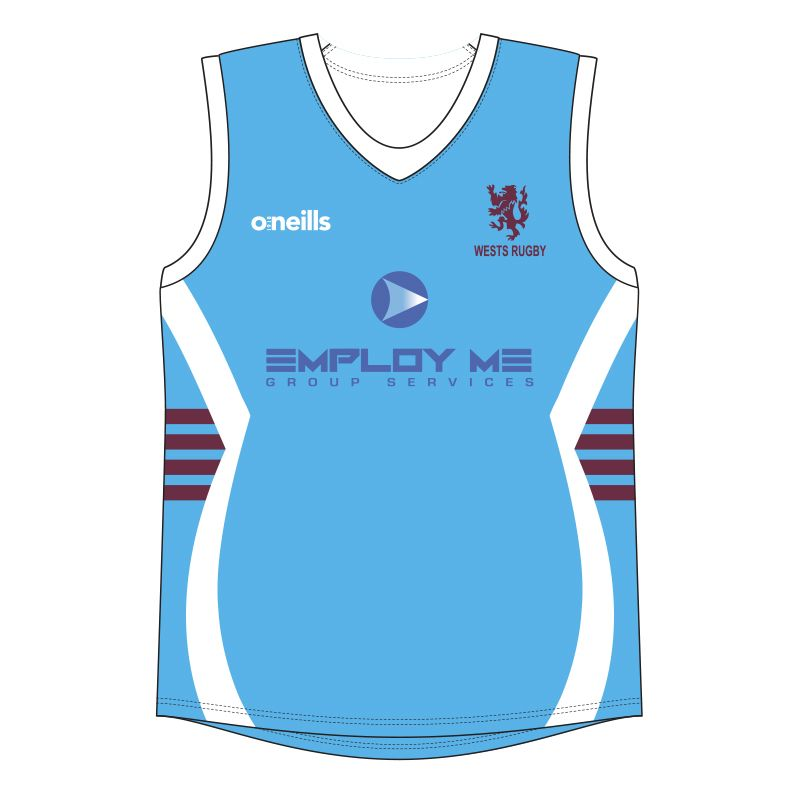 Wests Rugby Club Womens Vest