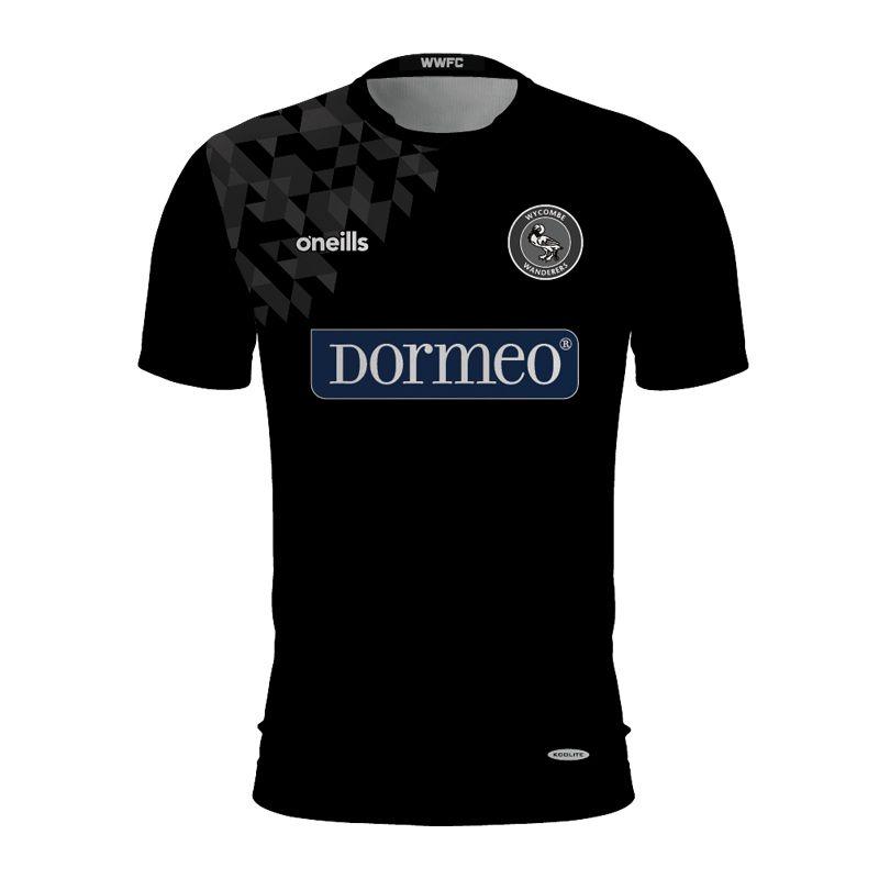 Wycombe Wanderers Black Goalkeeper Shirt (Dormeo)