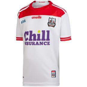 Cork GAA Kids' Away 2-Stripe Jersey