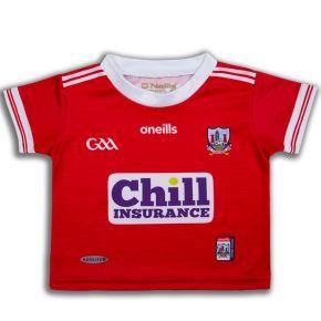 Cork GAA Replica 2-Stripe Baby Jersey