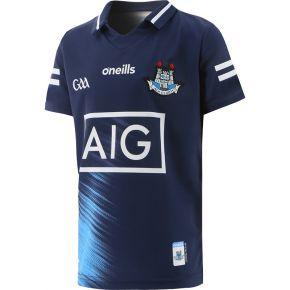 Dublin GAA Kids' 2 Stripe Goalkeeper Jersey