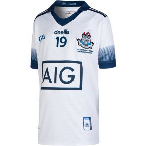 Dublin GAA Kids' All Ireland Football Champions Goalkeeper 2-Stripe Jersey 2019