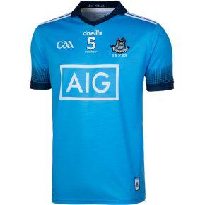 Dublin GAA Player Fit 2 Stripe 5 In A Row Jersey
