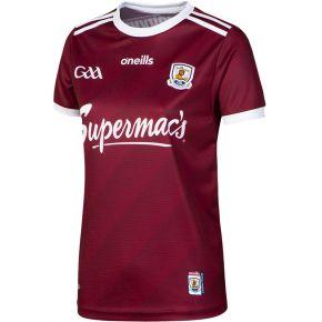 Galway GAA Women's Fit 2 Stripe Home Jersey