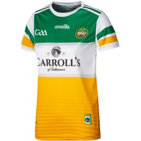 Offaly GAA Women's Fit 2-Stripe Home Jersey