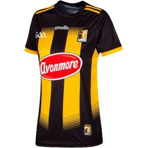 Kilkenny GAA Women's Fit 2 Stripe Home Jersey