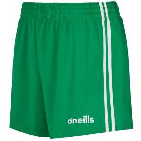 Kids' Mourne 2 Stripe Shorts Green / White