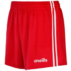 Mourne 2 Stripe Shorts Red / White
