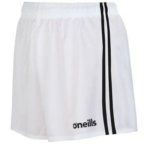 Kids' Mourne 2 Stripe Shorts White / Black