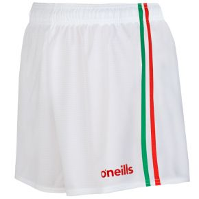 Mourne 2 Stripe Shorts White / Red / Green
