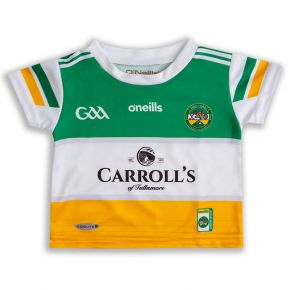 Offaly GAA Baby 2-Stripe Home Jersey