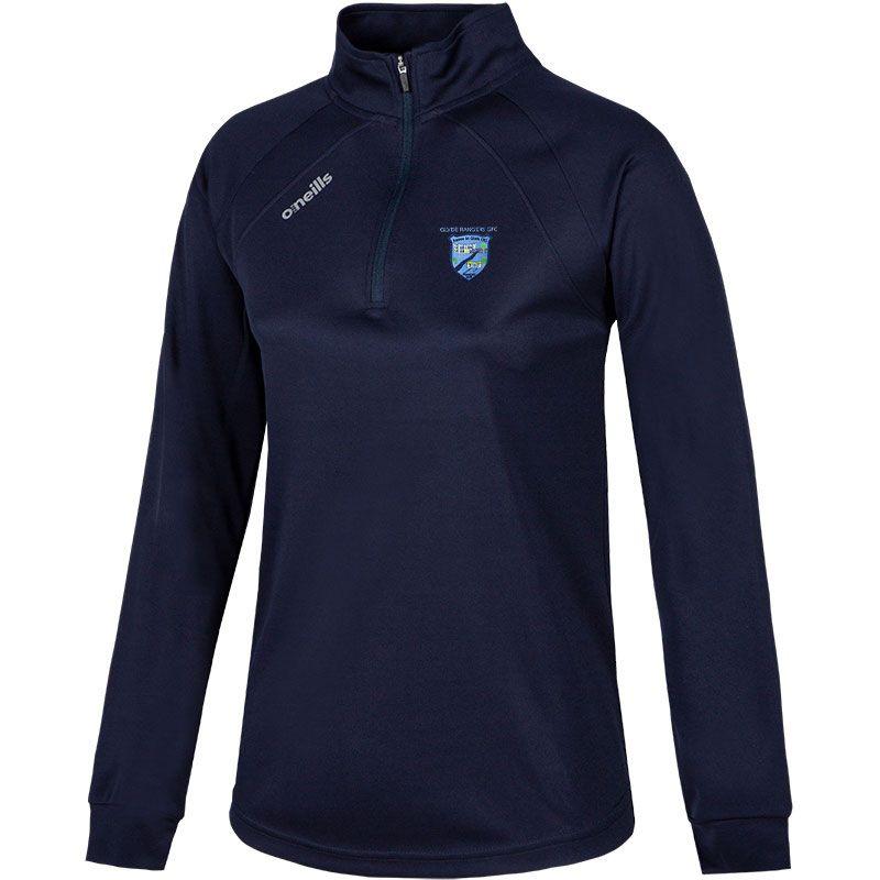 Glyde Rangers Women's Esme Club Midlayer Half Zip Top