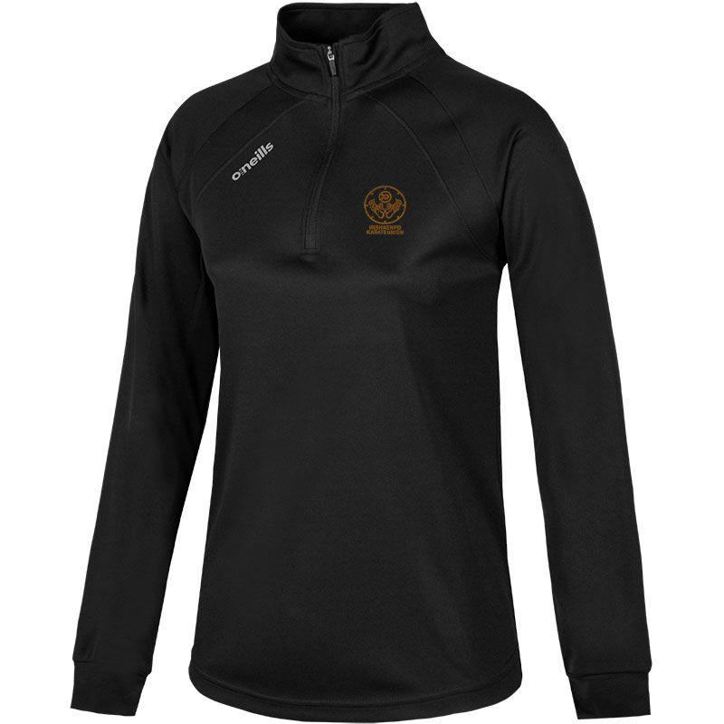 Irish Kenpo Karate Union Women's Esme Club Midlayer Half Zip Top