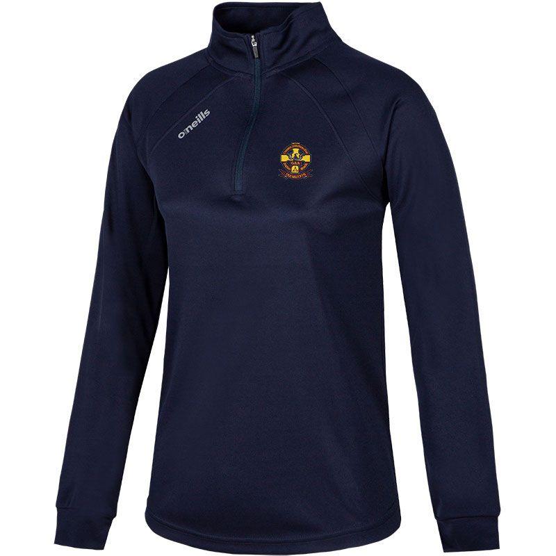 St Oliver Plunkett Eoghan Ruadh GAA Club Women's Esme Club Midlayer Half Zip Top