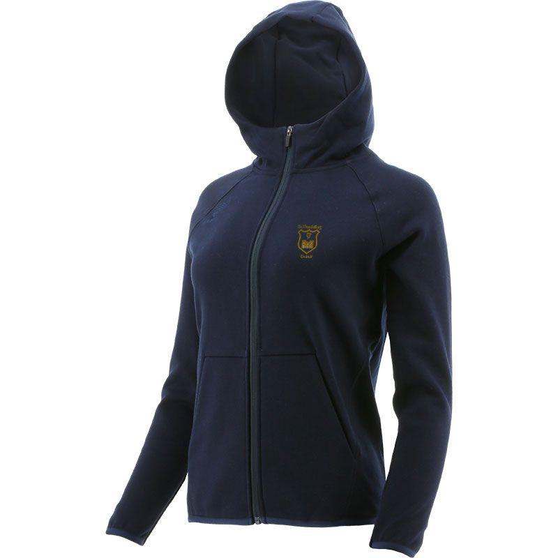 John Mitchels GAA Kerry Women's Henry Fleece Full Zip Hoodie