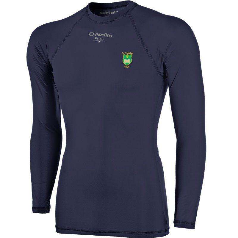 John Mitchels GAA Kerry Kids' Pure Baselayer Long Sleeve Top