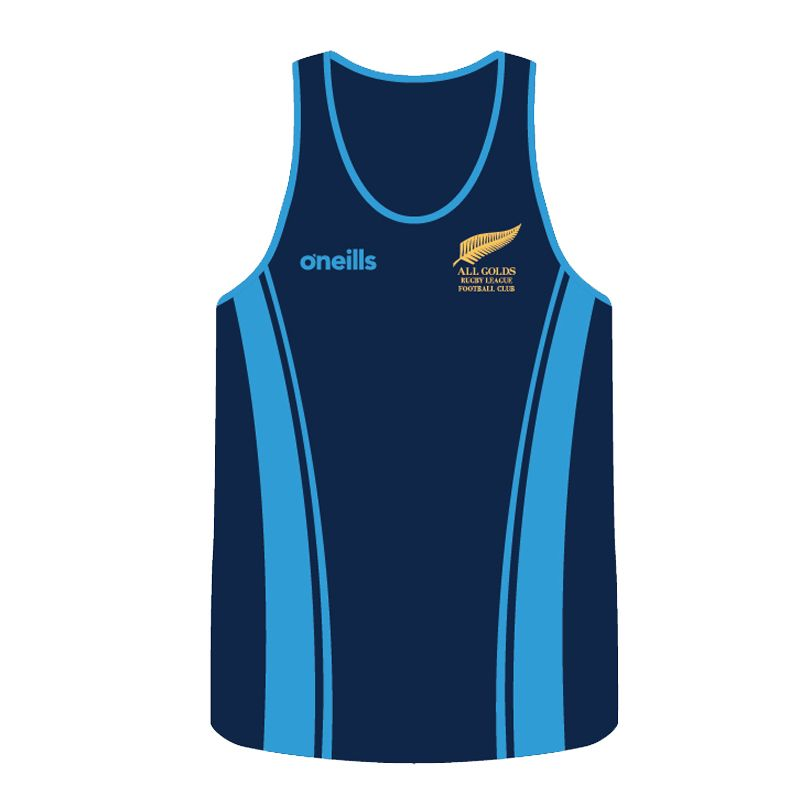 All Golds RLFC Rugby Vest