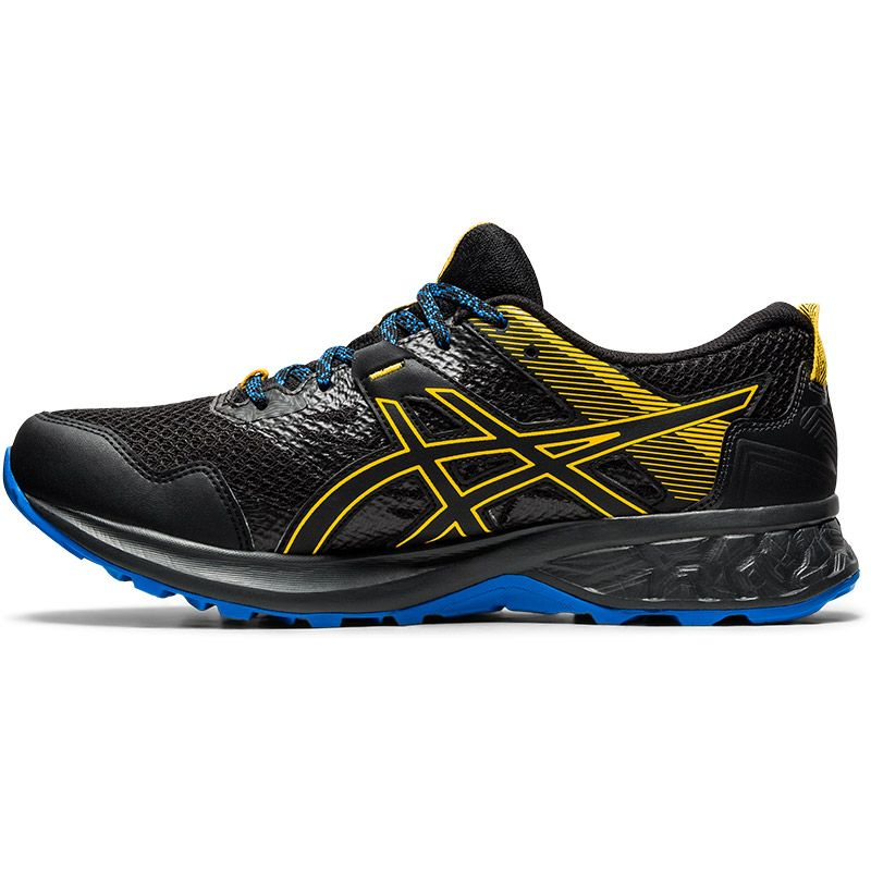ASICS Men's Gel-Sonoma 5 G-TX Running Shoes Black / Directoire Blue