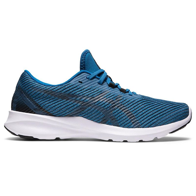 blue and white ASICS men's running shoes with a great fit and all day comfort from O'Neills