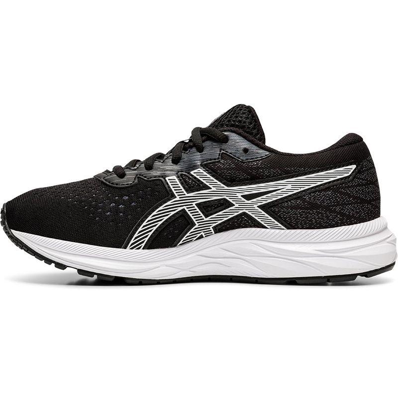 ASICS Kids' Gel-Excite 7 GS Running Shoe Black / White