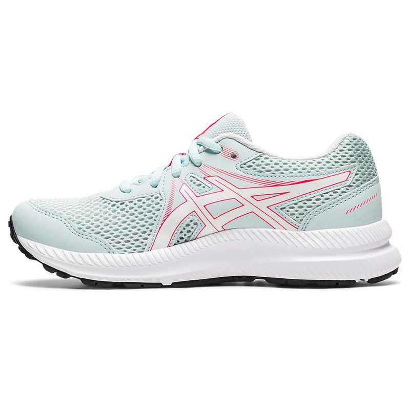 blue, pink and white ASICS Kids' runners with a new mesh upper and improved fit from O'Neills