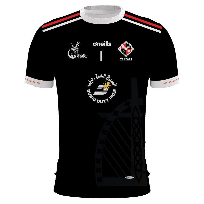 Dubai Celts Alternative Jersey (Black)