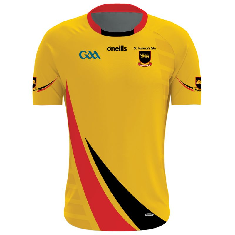 St Laurences GAA Jersey Womens Fit (Amber)