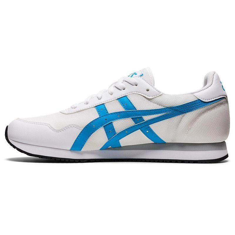 ASICS Men's Tiger Runner™ Trainers White / Aizuri Blue