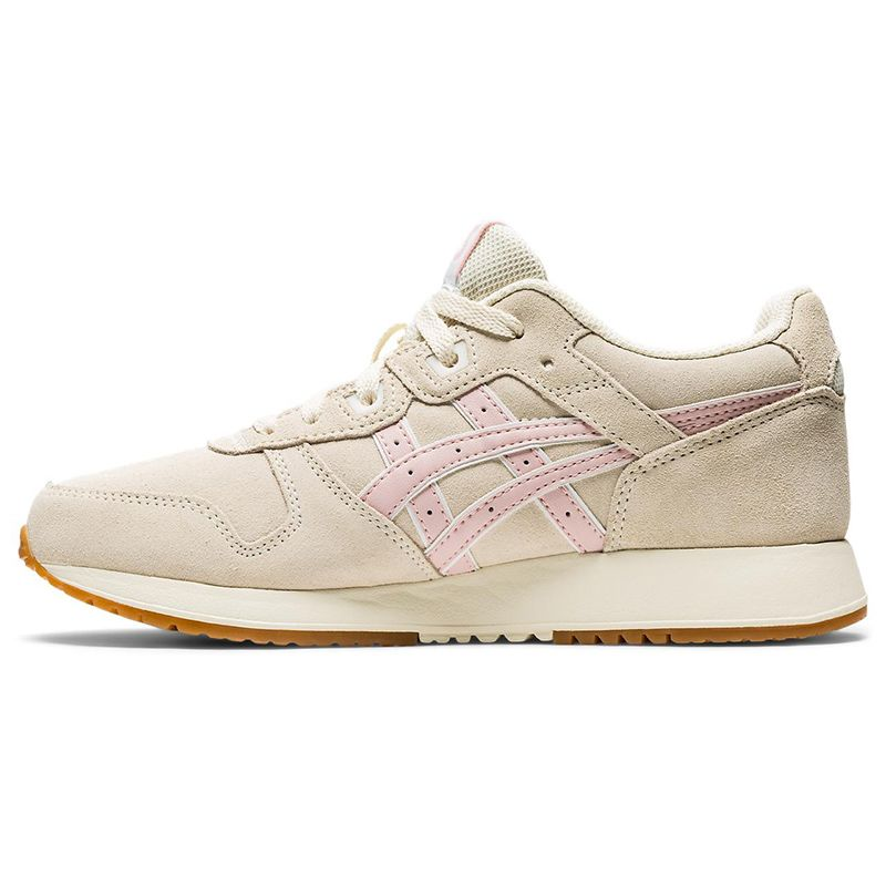 ASICS Women's Lyte Classic Suede Shoes Birch / Ginger Peach