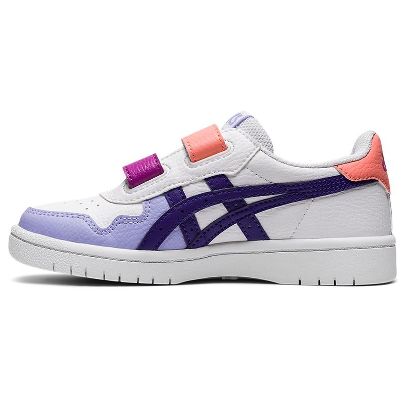 ASICS Kids' Japan S™ PS Trainers White / Gentry Purple