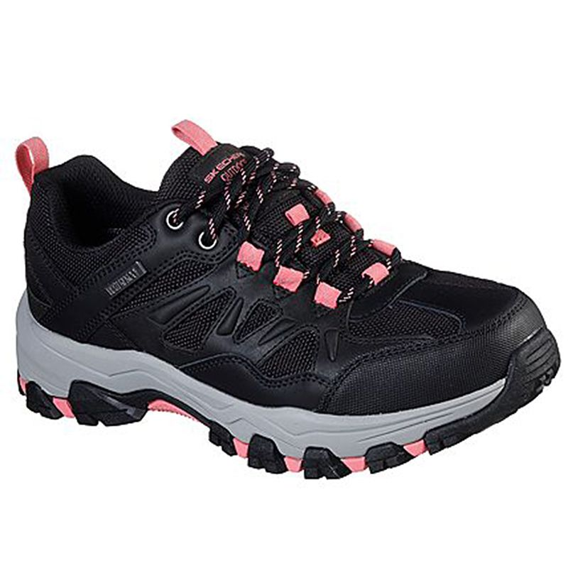 Skechers Women's Relaxed Fit®: Selmen West Highland Sport Shoes Black / Coral