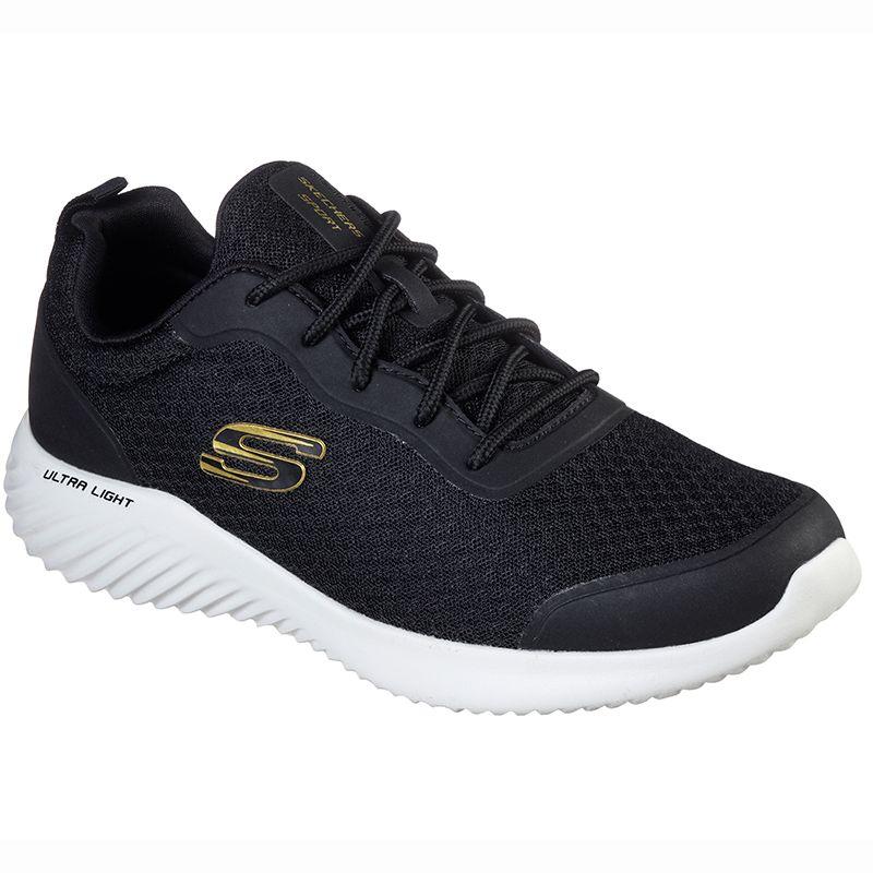 Skechers Men's Bounder - Voltis Sport Shoes Black / Gold