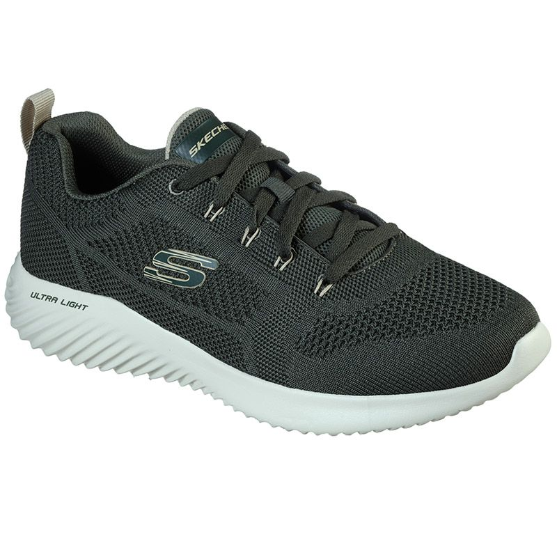 Skechers Men's Bounder Rinset Trainers Olive