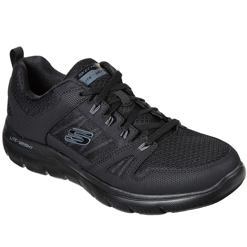 Skechers Men's Summits - New World Trainers Black