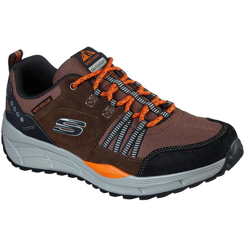 Skechers Men's Equalizer 4.0 Trail Shoes Brown / Black