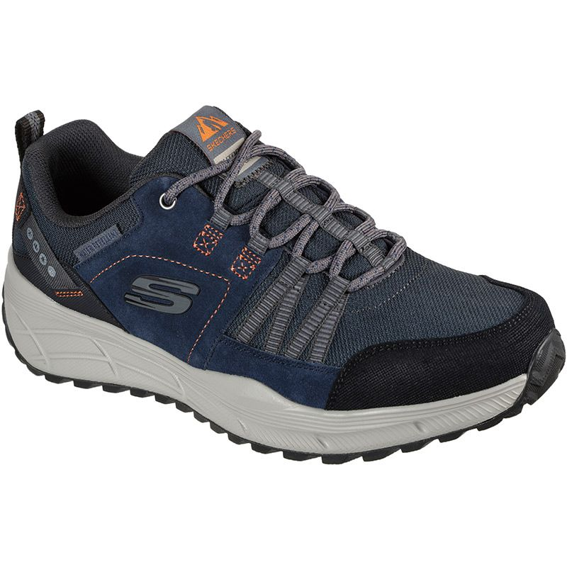 navy Skechers Men's shoes which  have a water repellent treated upper from O'Neills