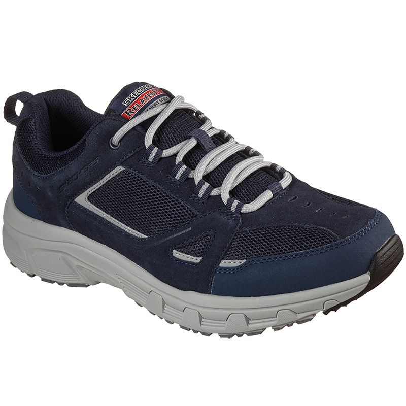 navy Skechers men's trainers with a memory foam cushion insole from O'Neills