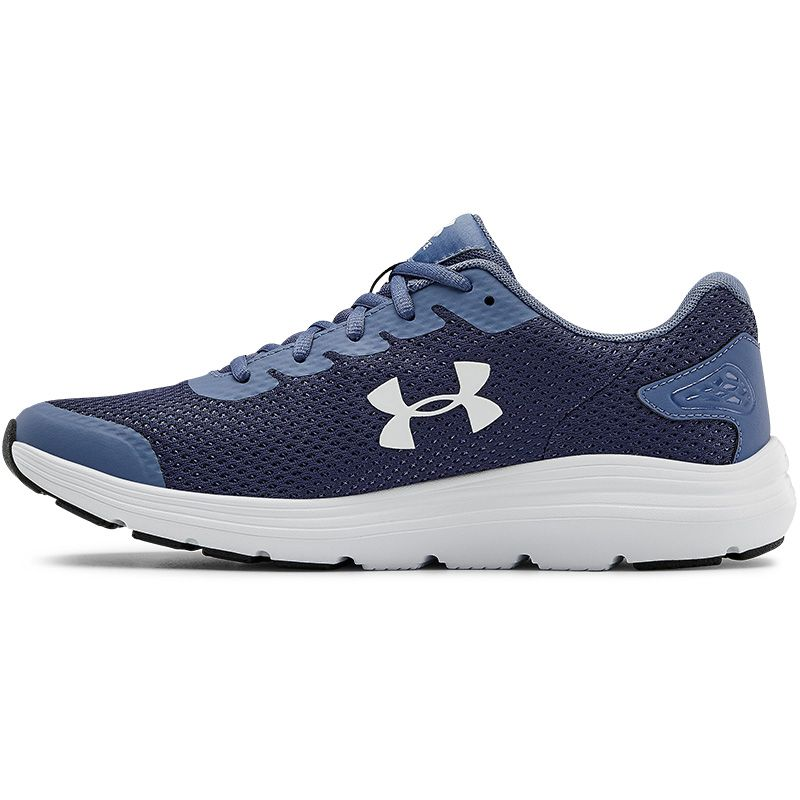 Under Armour Men's Surge 2 Running Shoes Blue Ink / White