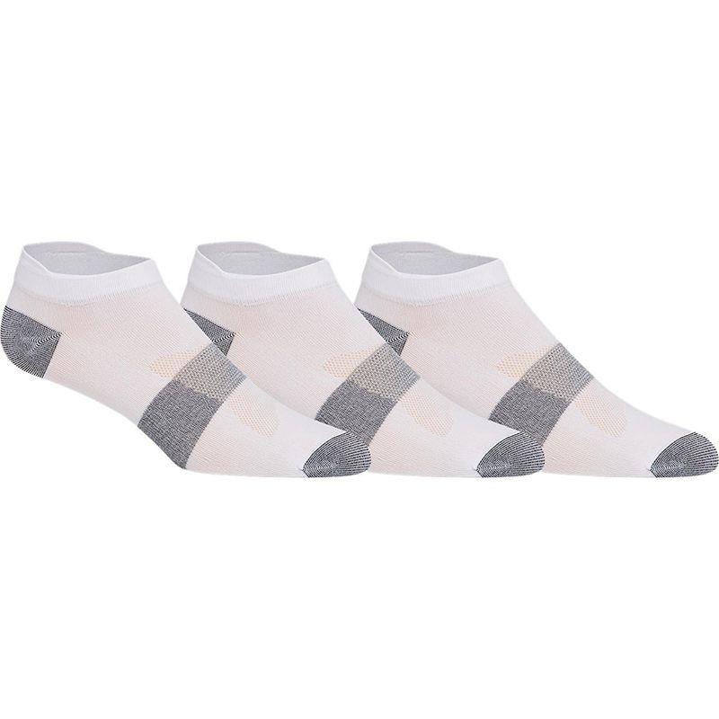 ASICS Men's 3 Pack Lyte Socks White