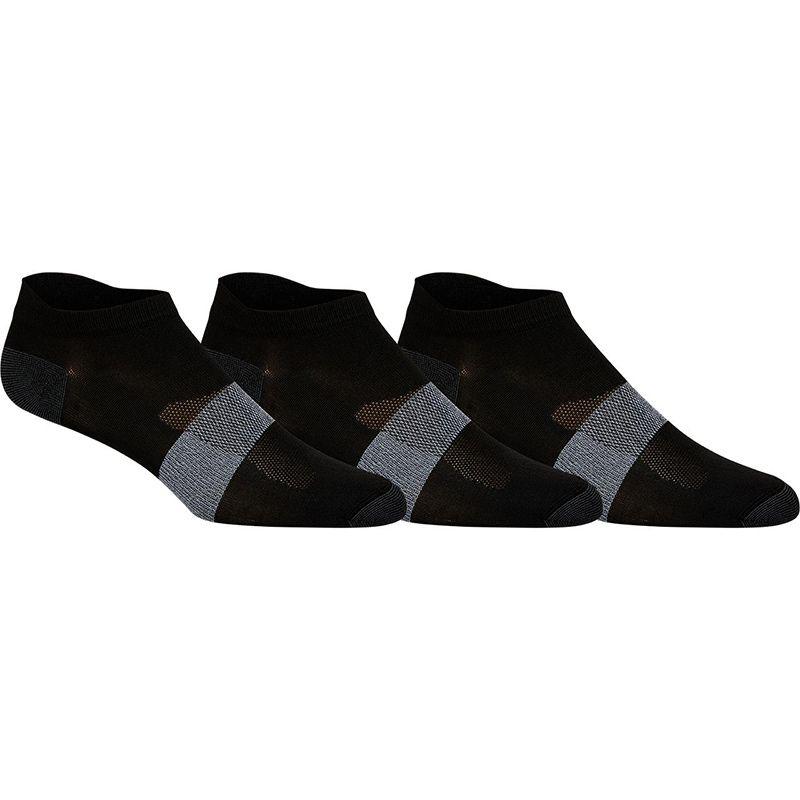 ASICS Men's 3 Pack Lyte Socks Black