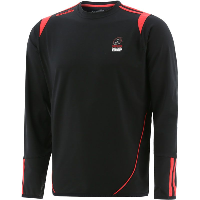 Stado Tarbes Pyrénees Rugby Loxton Brushed Crew Neck Top