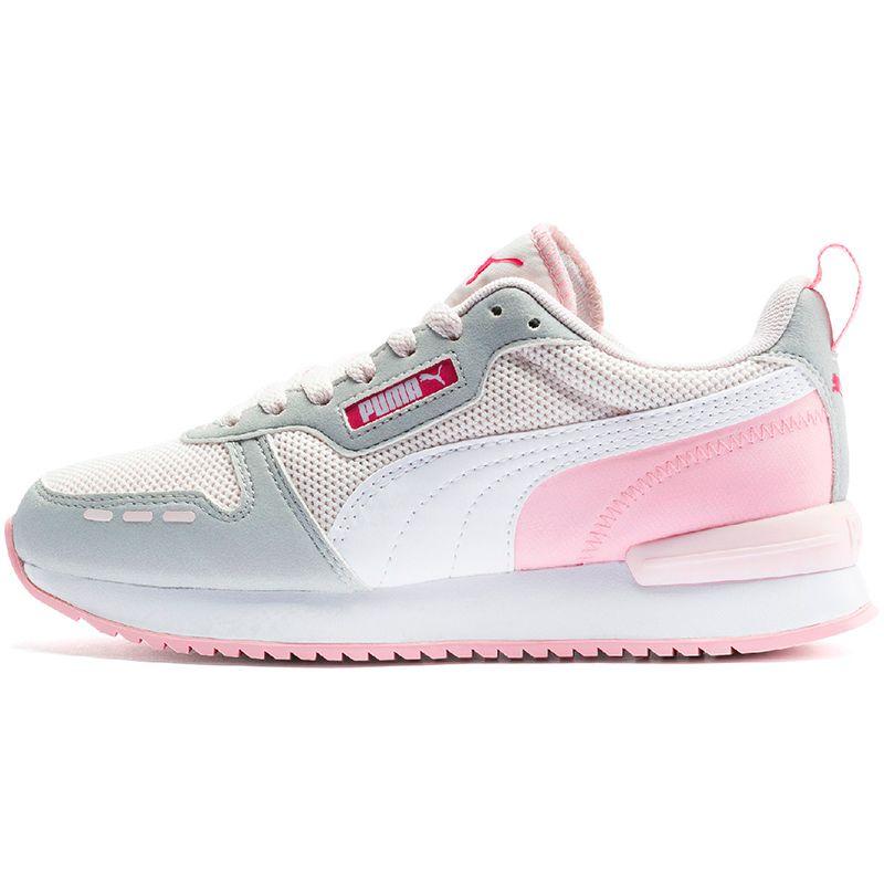 Puma Kids' R78 Junior Trainers Rosewater / Grey Violet / White