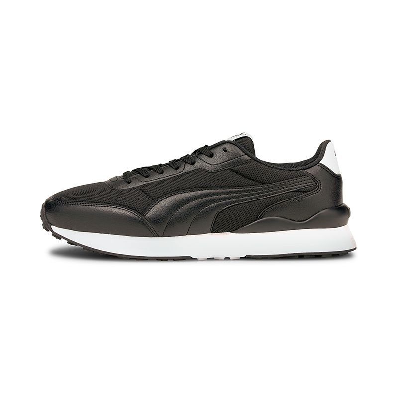 black Puma men's runners have a lightweight, athletic and wider fit, reminiscent of classic trainers, now available @ O'Neills