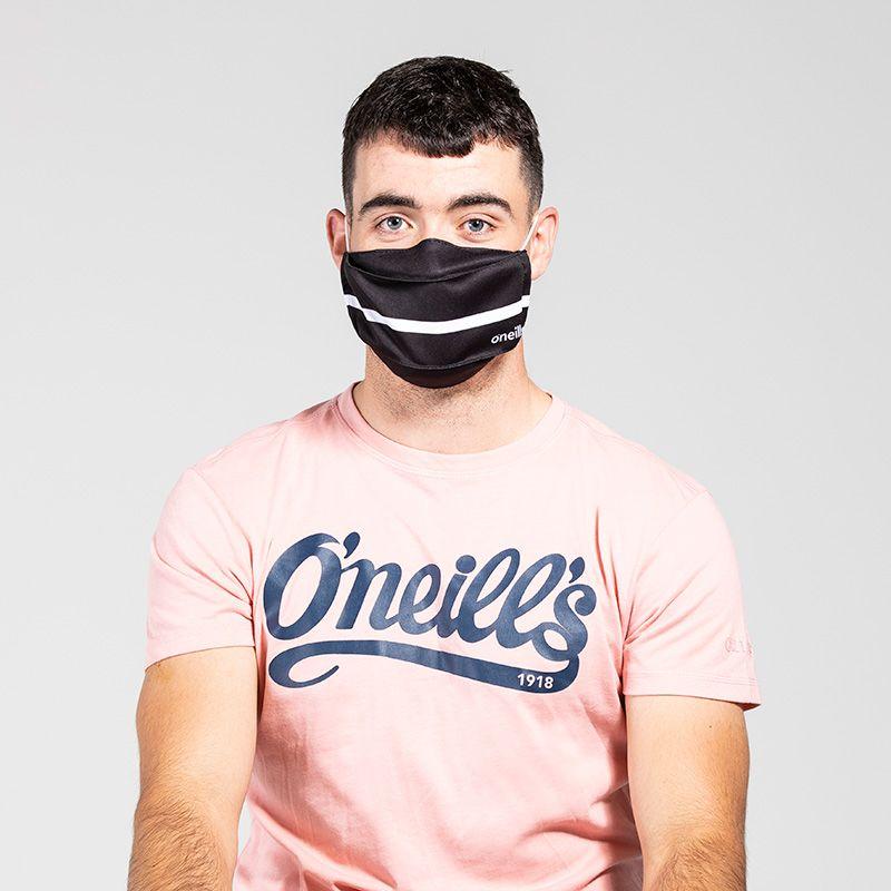 Reusable Face Mask Black / White