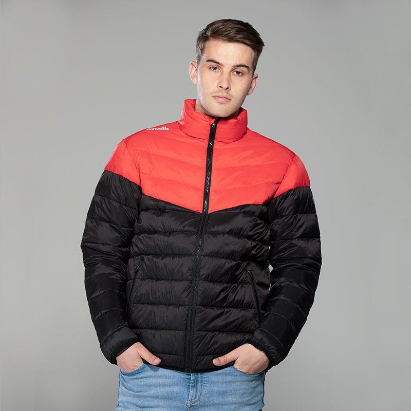 Men's Norton Padded Jacket Red / Black