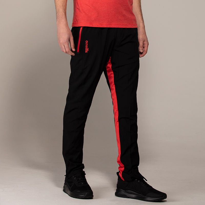 Men's Philly Woven Bottoms Black / Red