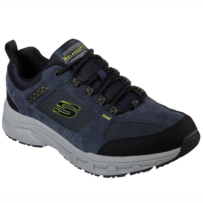 Skechers Men's Relaxed Fit®: Oak Canyon Sport Shoes Navy / Lime