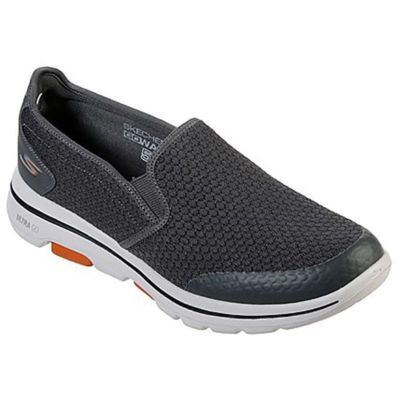 Skechers Men's GOwalk 5™ - Apprize Slip on Trainers Charcoal