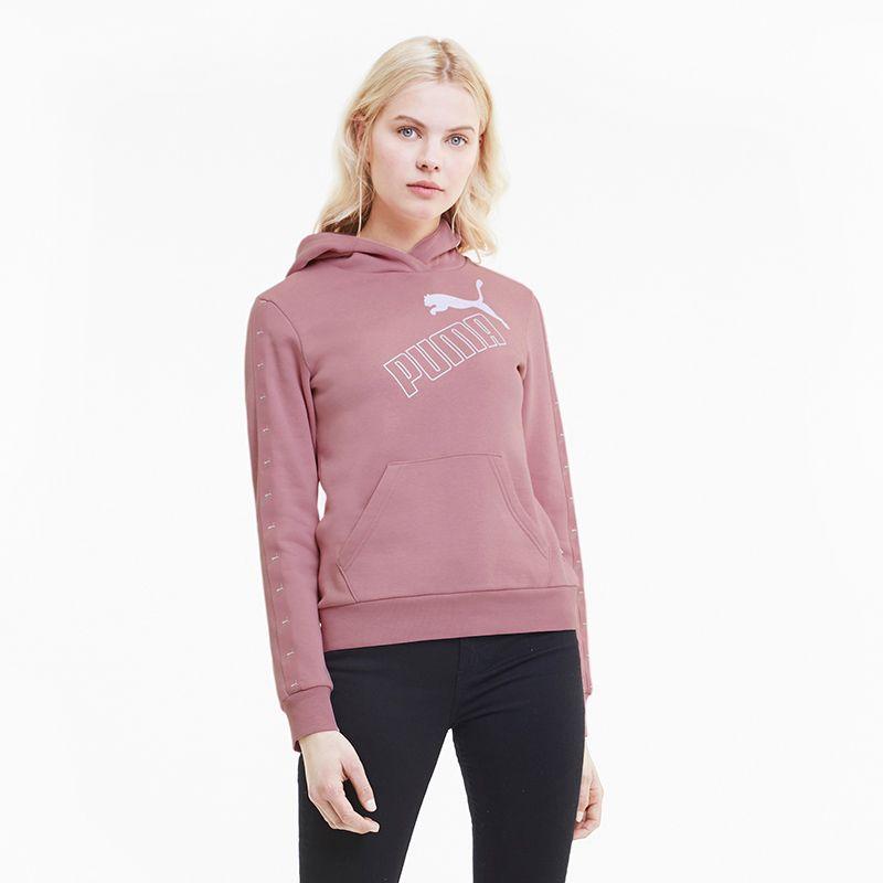 Puma Women's Amplified Hooded Top Foxglove